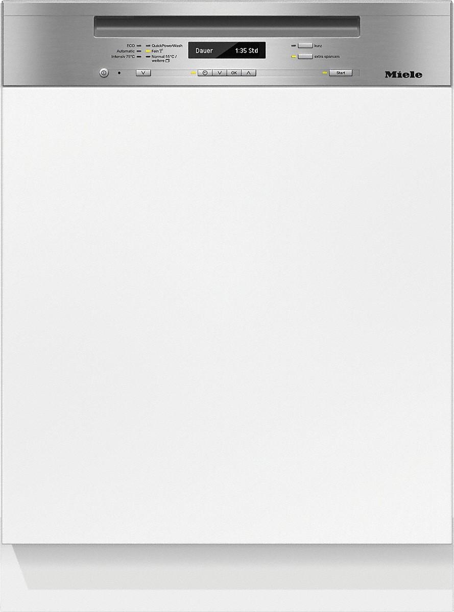 Miele G 6735 SCI XXL Integrierter Geschirrspüler Edelstahl CleanSteel
