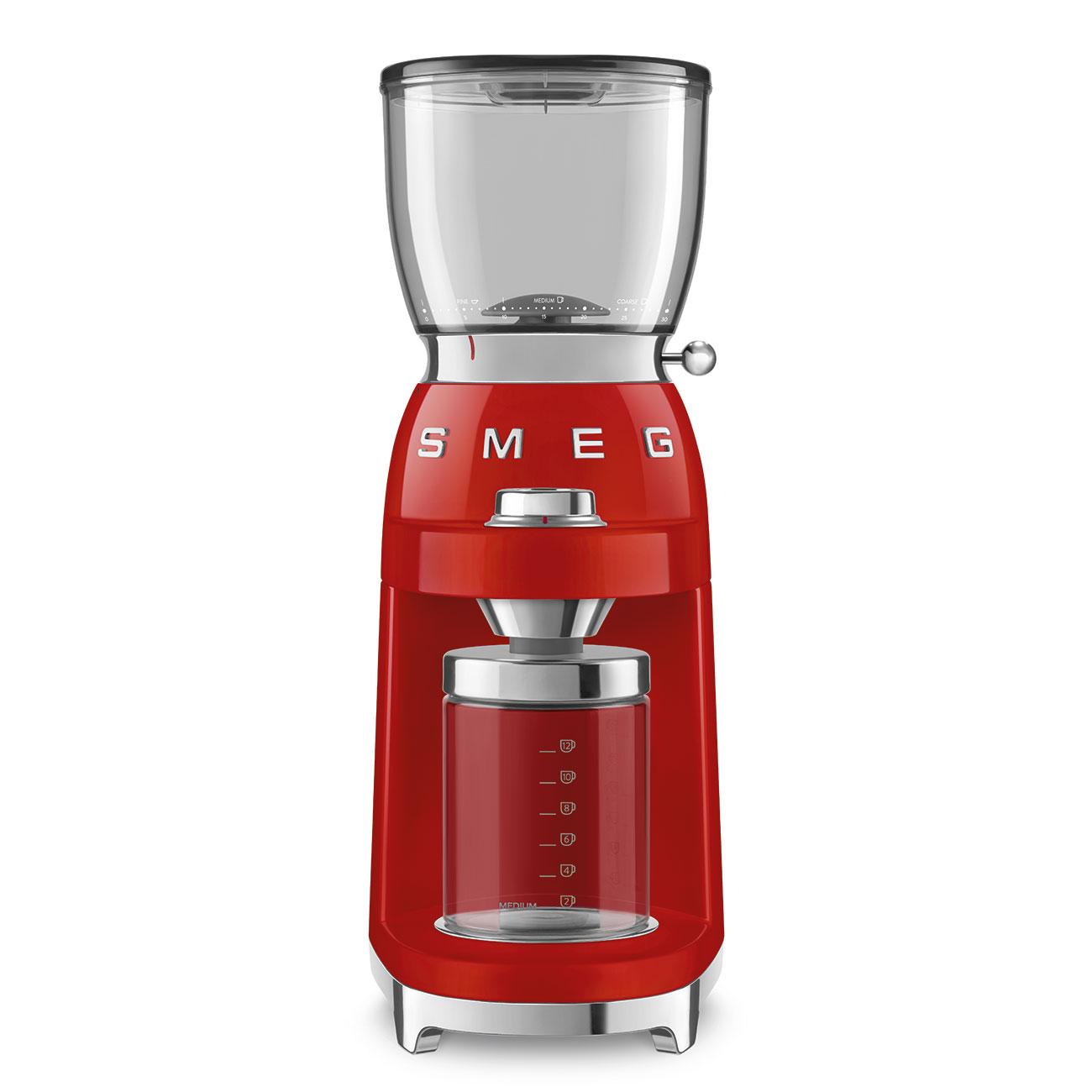 SMEG CGF01RDEU Kaffeemühle Rot