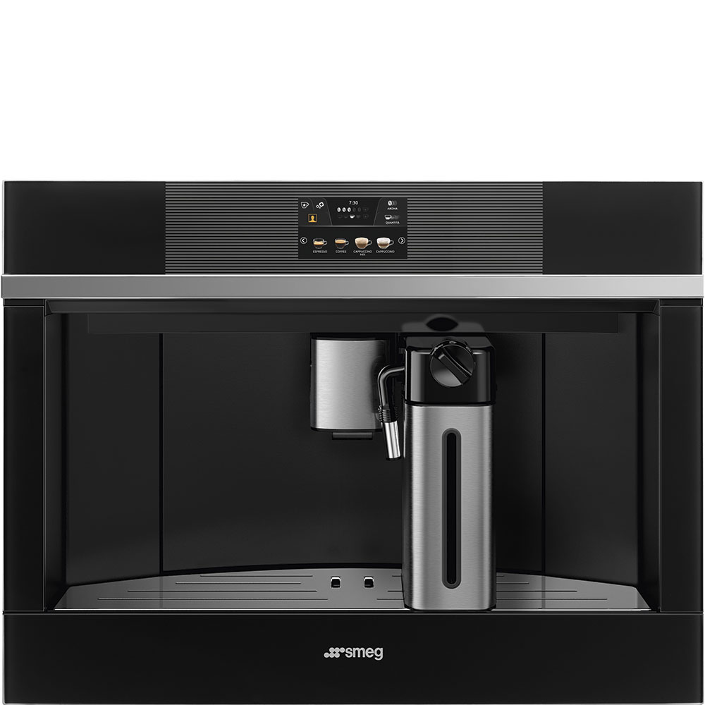 SMEG CMS4104N Einbau-Kaffeevollautomat Schwarz