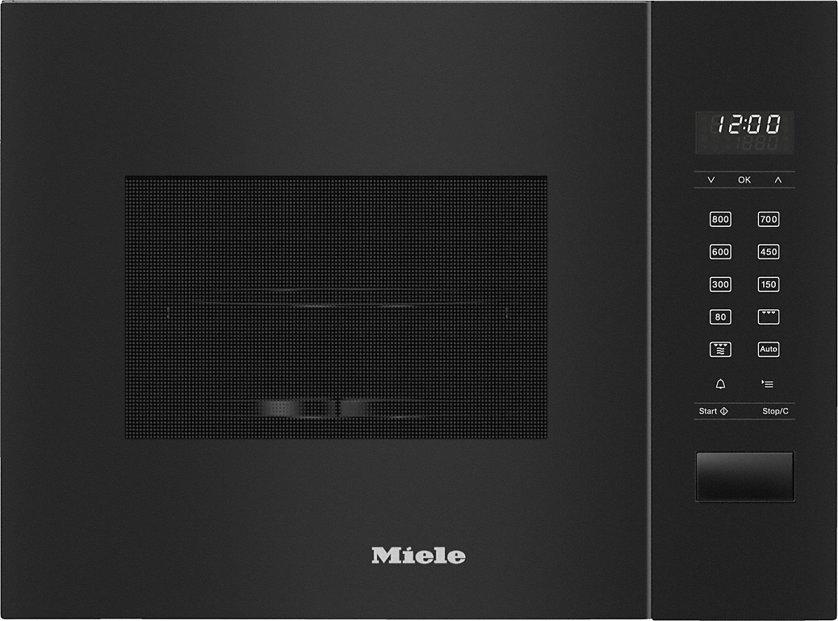 Miele M 2224 SC Einbau-Mikrowellengerät Obsidianschwarz