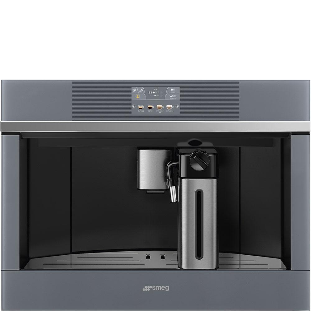SMEG CMS4104S Einbau-Kaffeevollautomat Silver