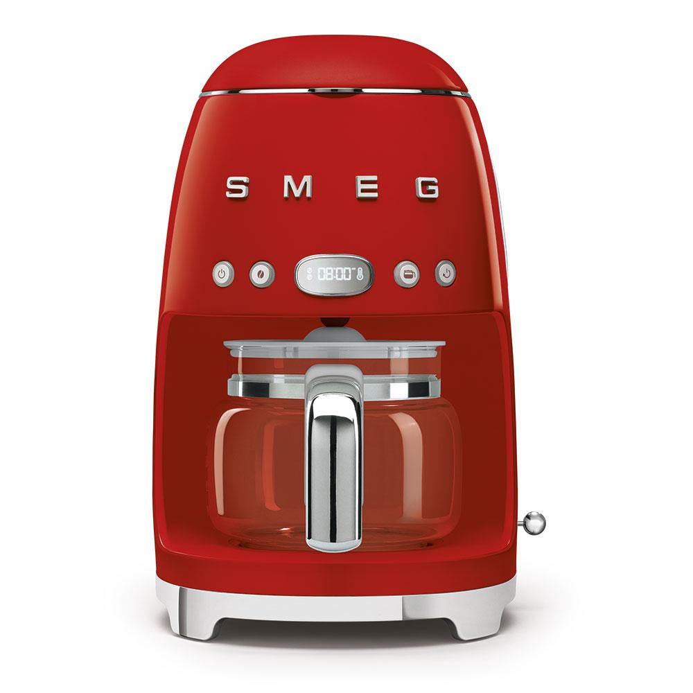 SMEG DCF02RDEU Filter Kaffeemaschine Rot