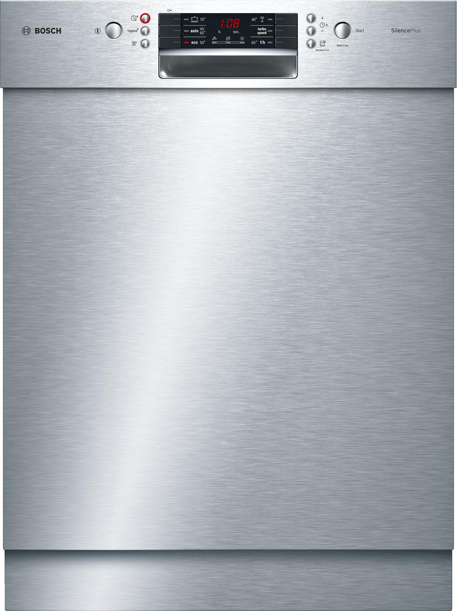 Bosch SMU46GS01E Unterbau-Geschirrspüler Edelstahl