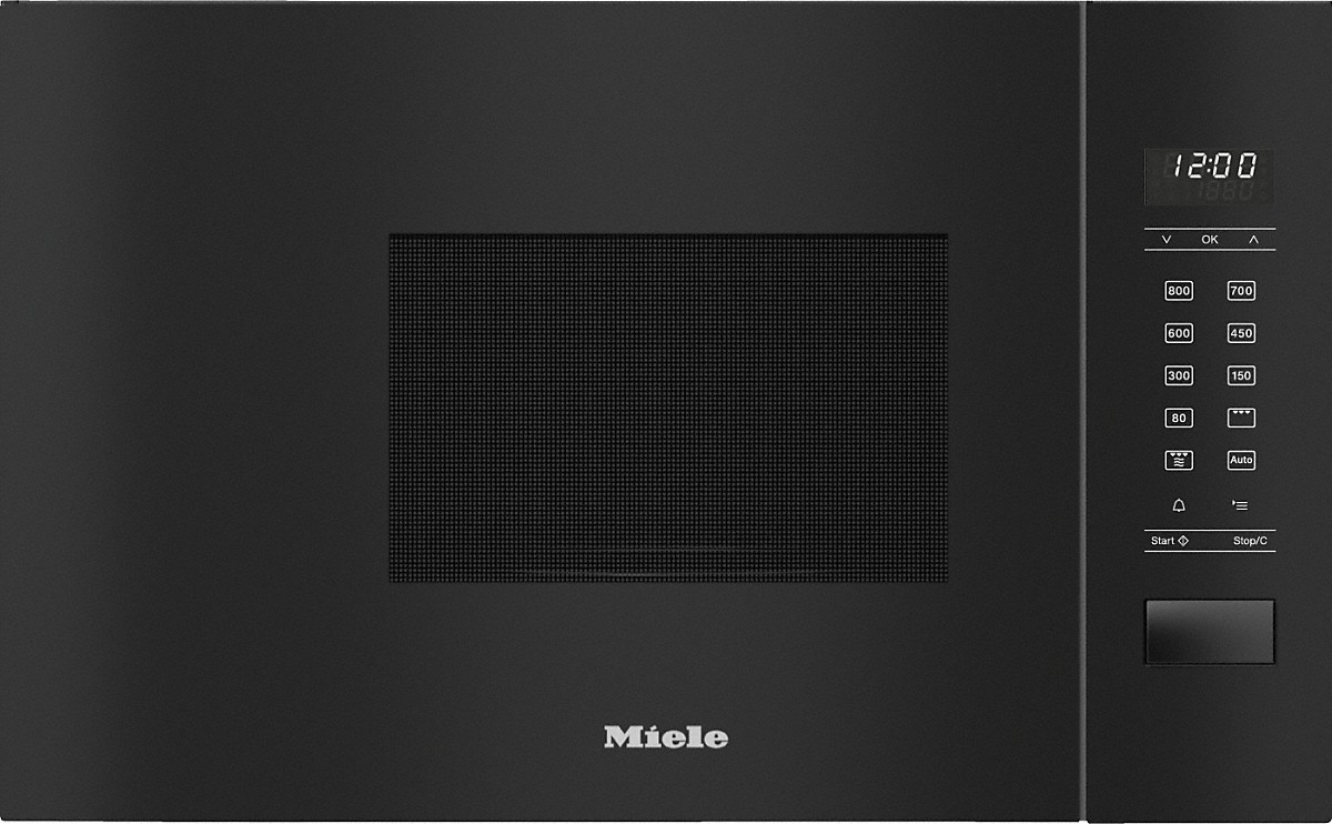 Miele M 2234 SC Einbau-Mikrowellengerät Obsidianschwarz