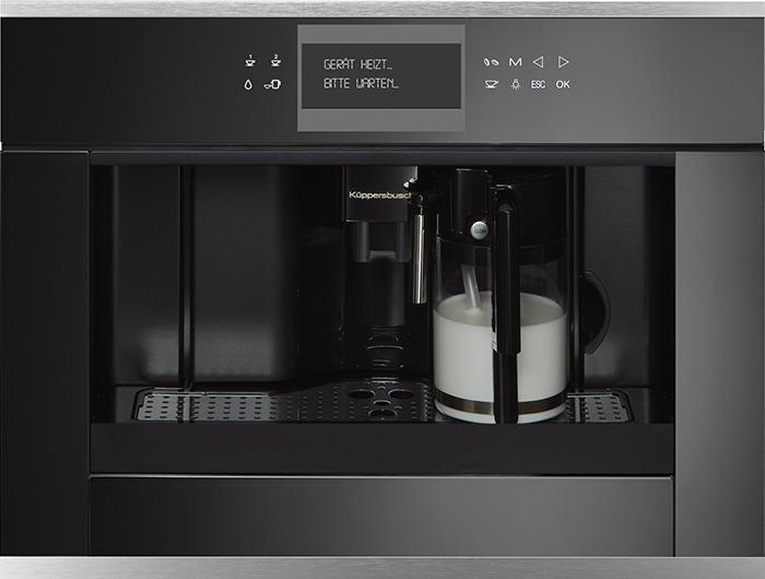 Küppersbusch CKV 6550.0 S1 Einbau-Kompakt-Kaffeevollautomat Edelstahl