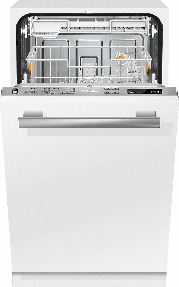 Miele G 4880 SCVI Vollintegrierter Geschirrspüler Edelstahl