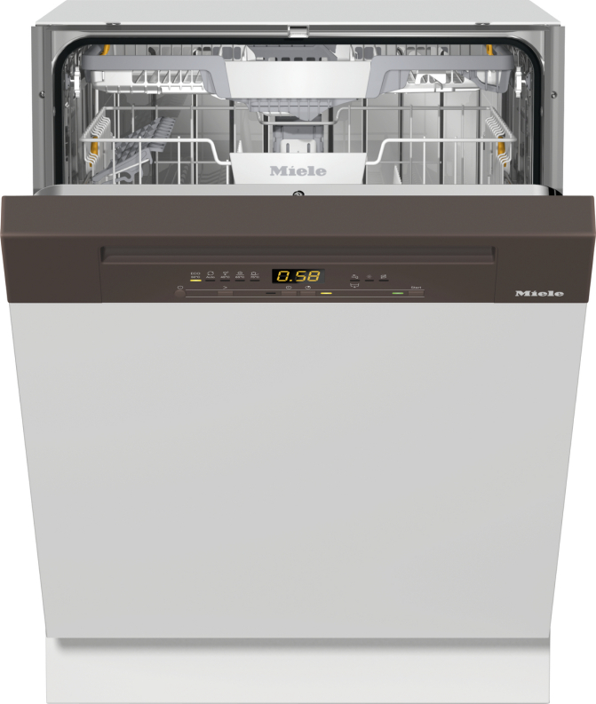 Miele G 5210 SCi Active Plus Integrierter Geschirrspüler Havannabraun