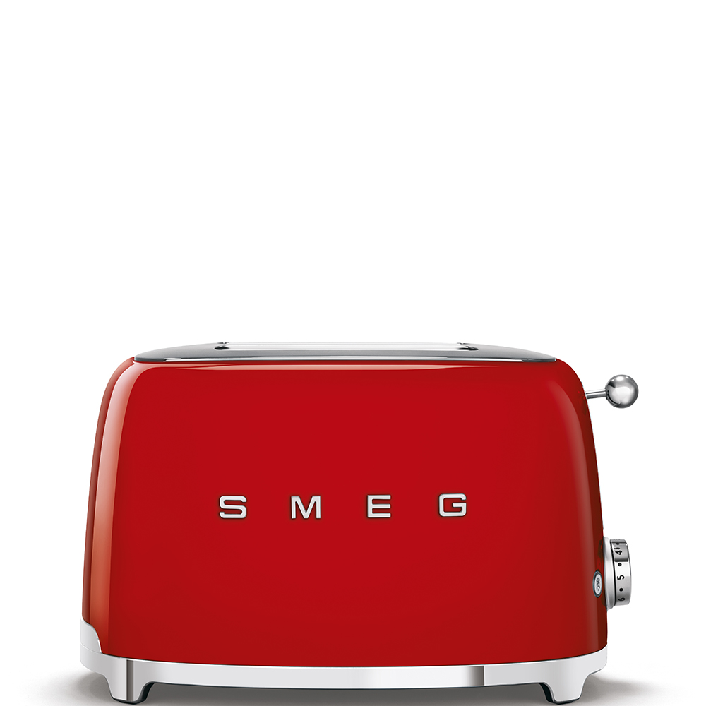 SMEG TSF01RDEU Toaster Rot