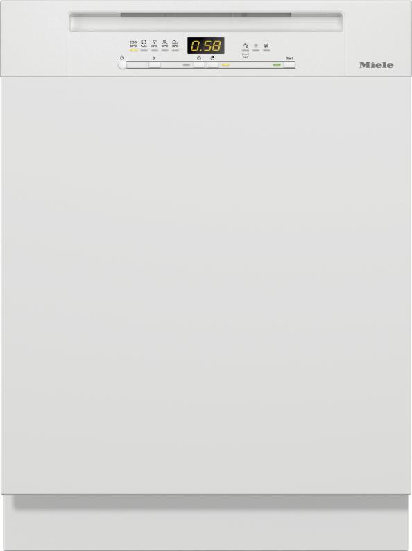 Miele G 5210 SCi Active Plus Integrierter Geschirrspüler Brillantweiß