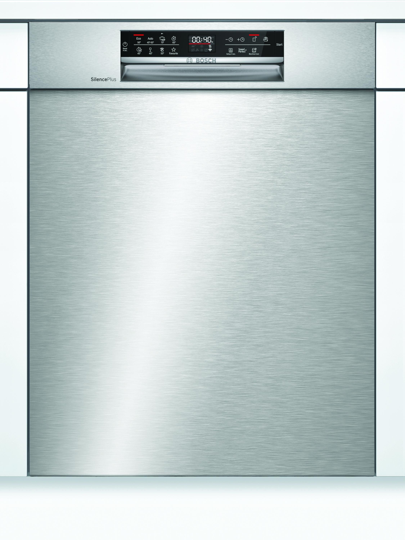 Bosch SMU6ECS57E Unterbau-Geschirrspüler Edelstahl