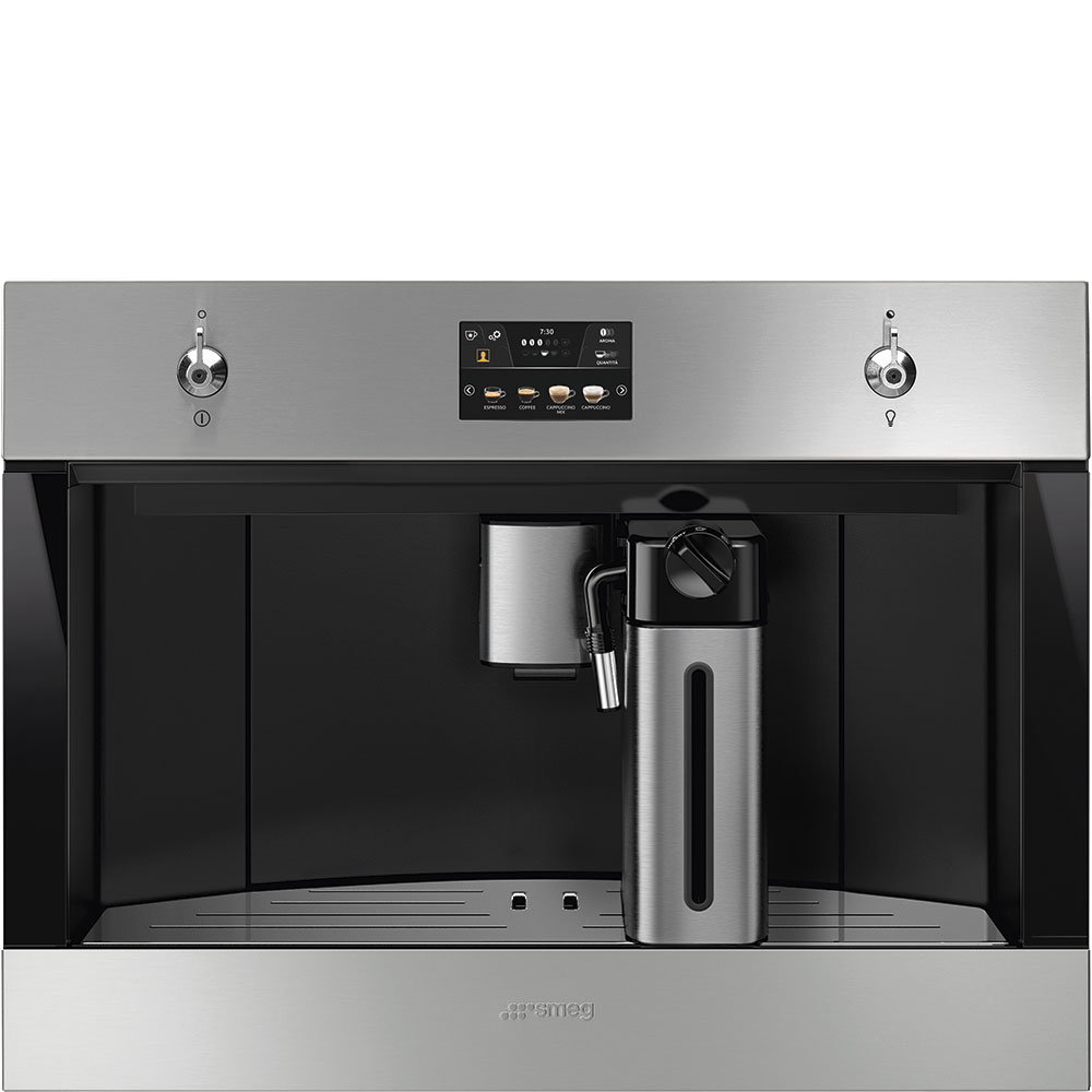 SMEG CMS4303X Einbau-Kaffeevollautomat Edelstahl