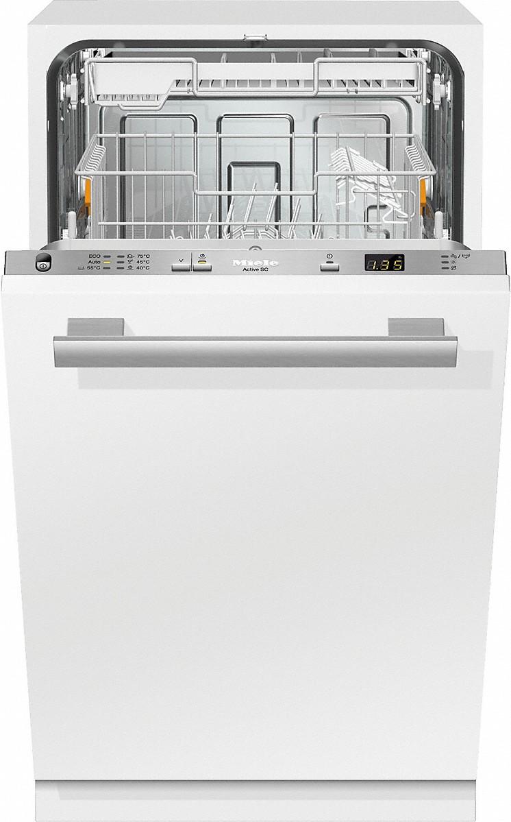 Miele G 4680 SCVI Vollintegrierter Geschirrspüler Edelstahl