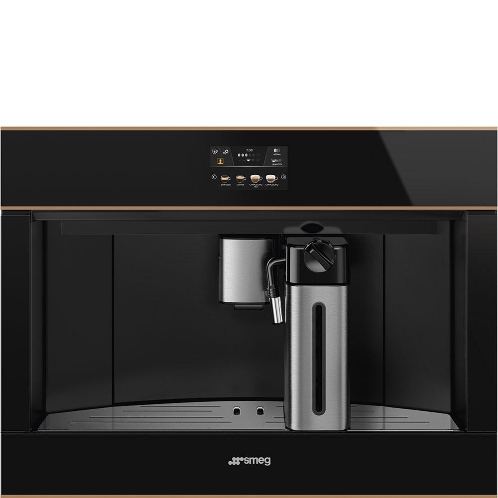 Smeg CMS4604NR Einbau-Kaffeevollautomat Schwarz