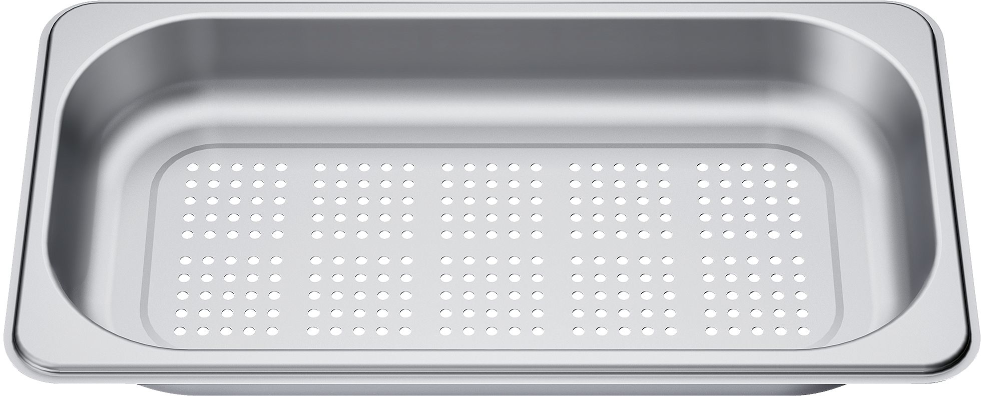 [Zweite Wahl] Siemens HZ36D613G Dampfgarbehälter gelocht Edelstahl Kopie