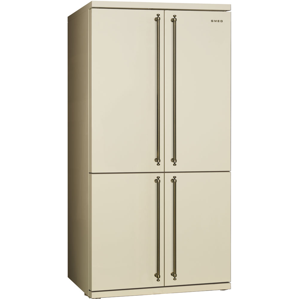 Smeg FQ60CPO Side-by-Side Kühl-/Gefrierkombination Creme
