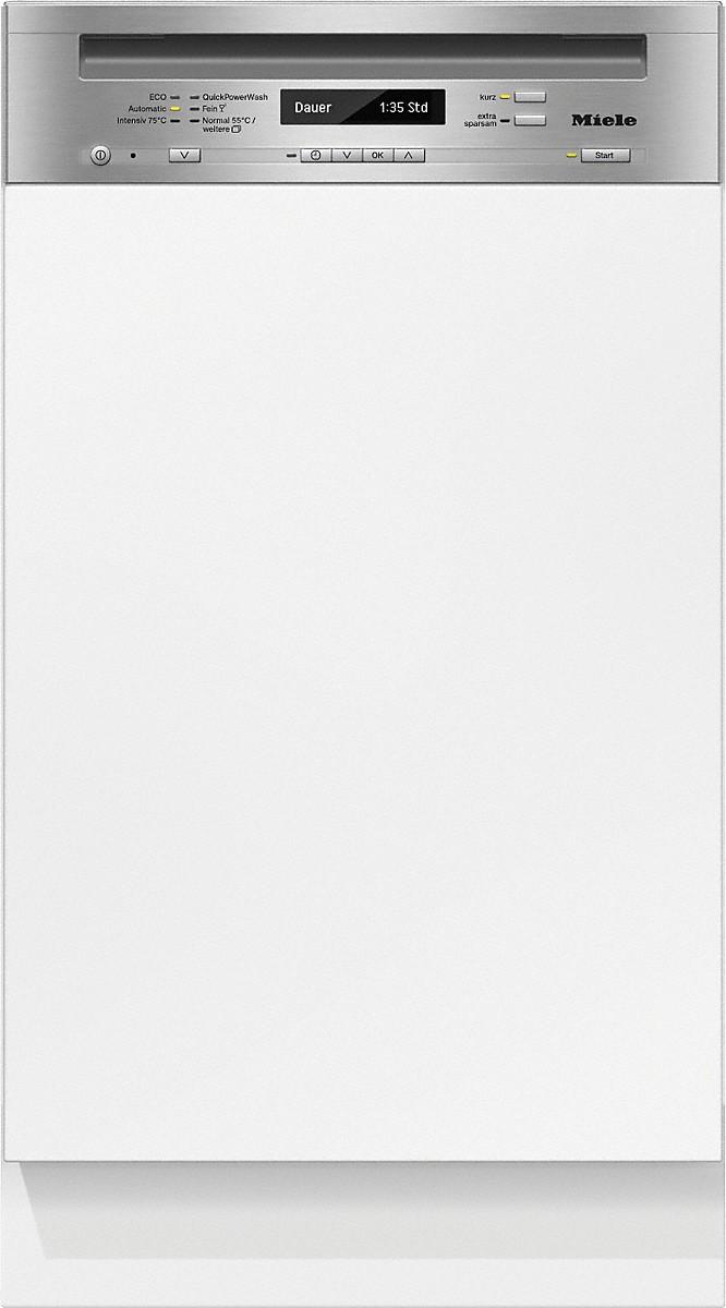 Miele G 4820 SCI Integrierter Geschirrspüler Edelstahl CleanSteel