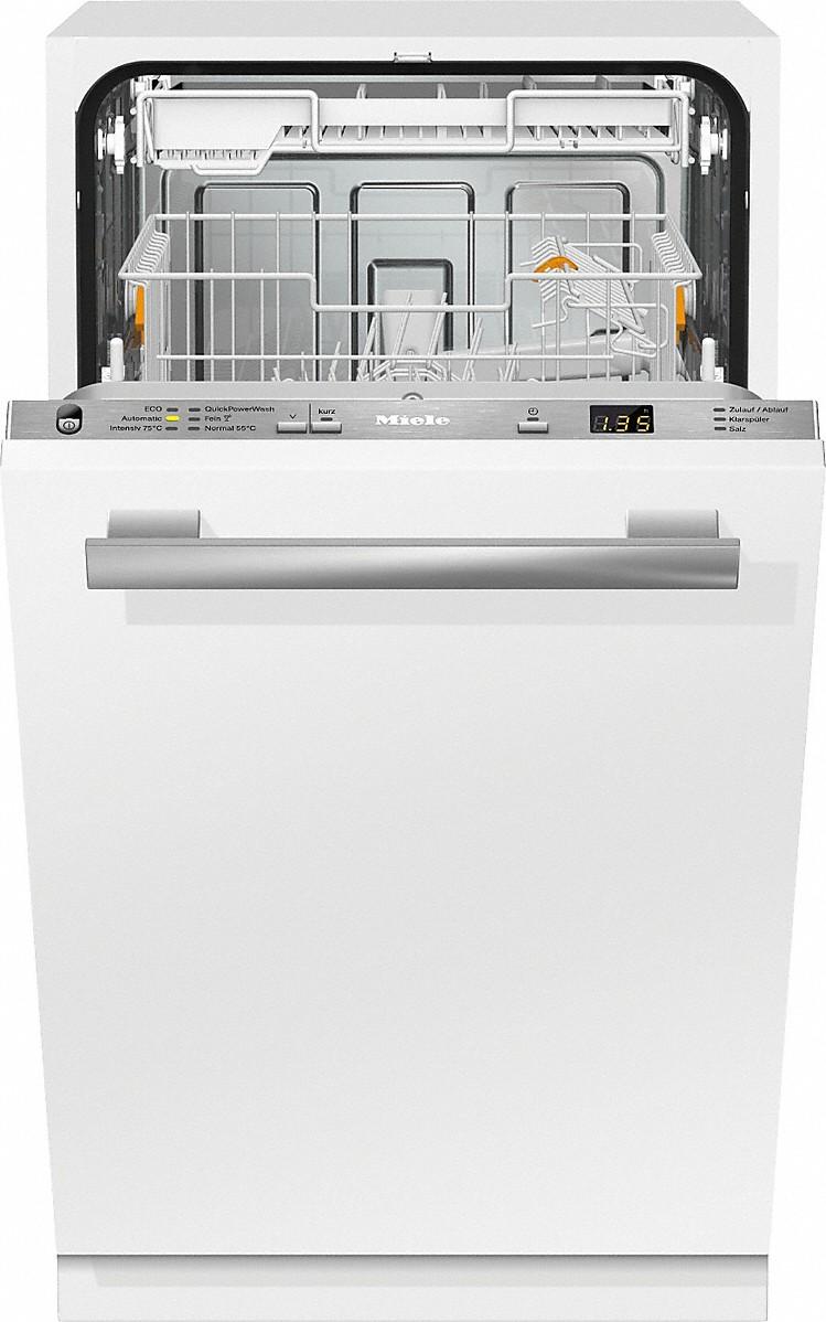 Miele G 4782 SCVI Vollintegrierter Geschirrspüler Edelstahl