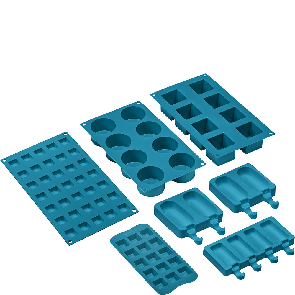 SMEG SMOLD Silikonformen Blau