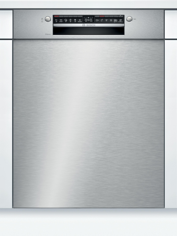 Bosch SMU4HVS31E Unterbau-Geschirrspüler Edelstahl