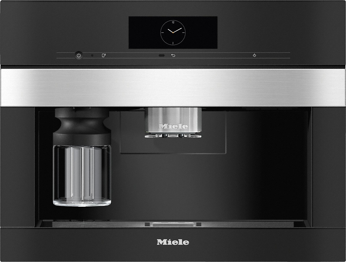 Miele CVA 7840 Einbau-Kaffeevollautomat Edelstahl/CleanSteel