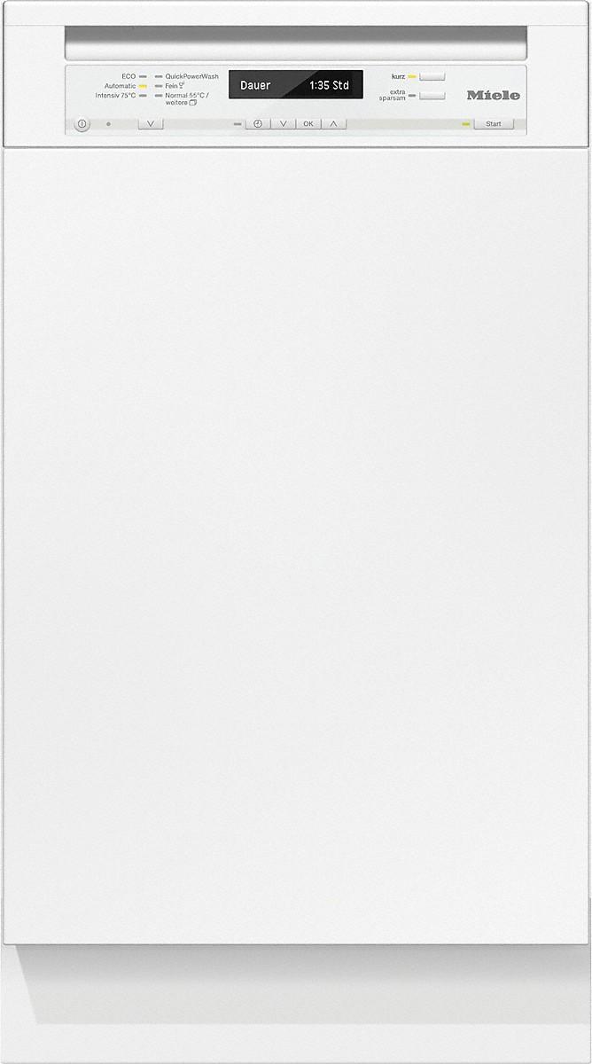 Miele G 4820 SCI Integrierter Geschirrspüler Brillantweiß