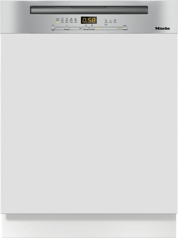 Miele G 5210 i Active Plus Integrierter Geschirrspüler Edelstahl CleanSteel