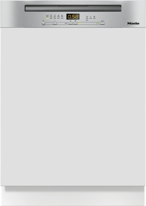 Miele G 5215 i XXL Active Plus Integrierter Geschirrspüler Edelstahl CleanSteel