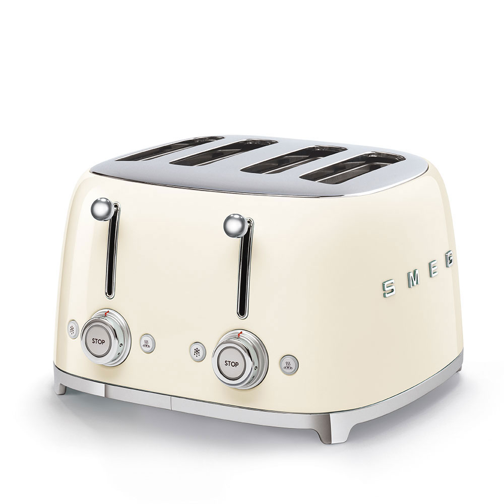 SMEG TSF03CREU Toaster Creme