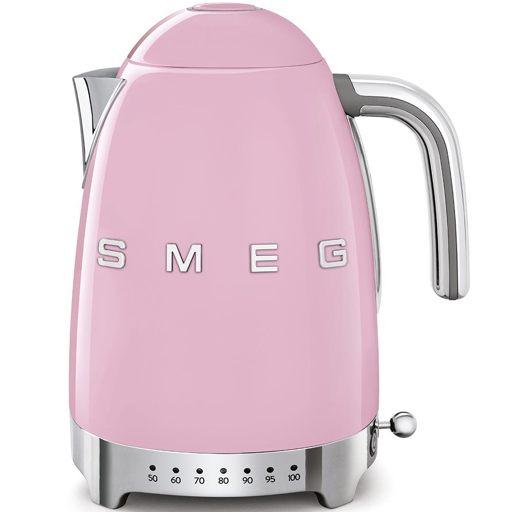 SMEG KLF04PKEU Wasserkocher Cadillac Pink