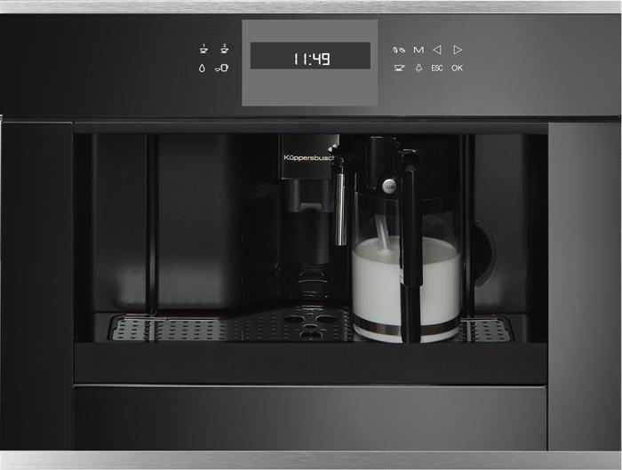 [Zweite Wahl] Kueppersbusch CKV 6550.0 S1 Einbau-Kompakt-Kaffeevollautomat Edelstahl