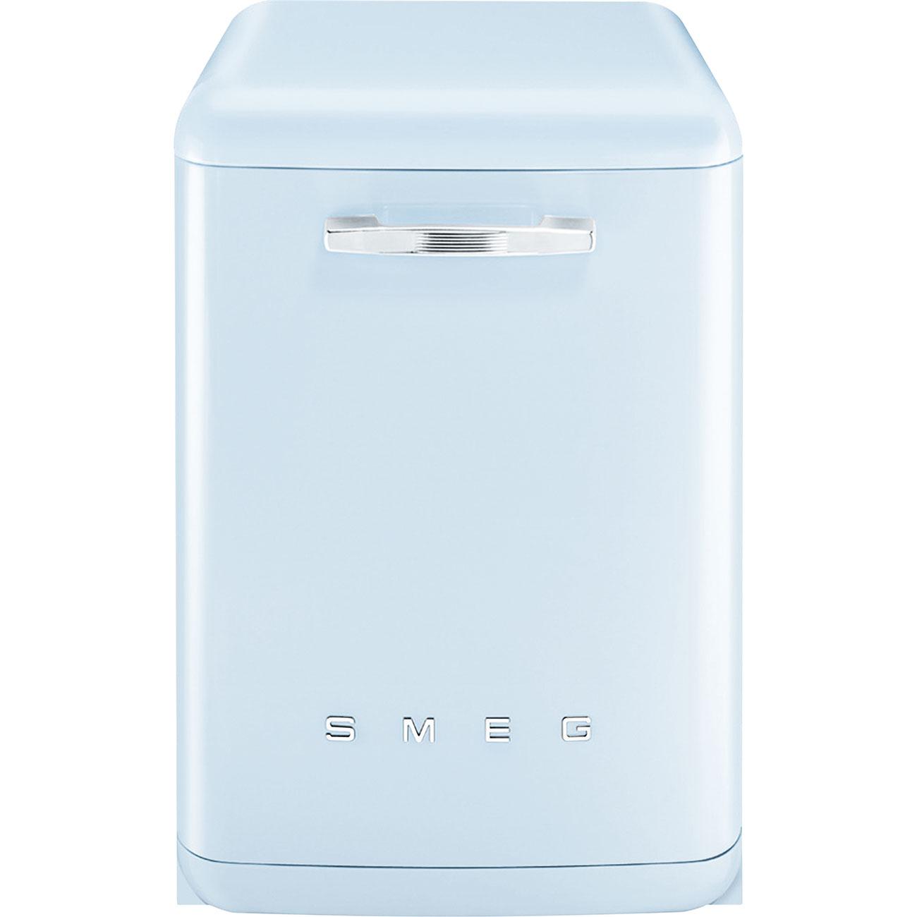 SMEG LVFABPB2 Integrierter Geschirrspüler Pastellblau