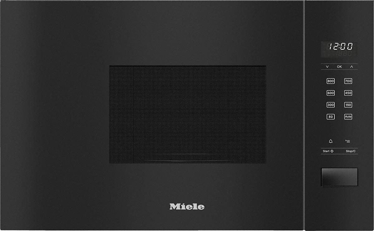 Miele M 2230 SC Einbau-Mikrowellengerät Obsidianschwarz