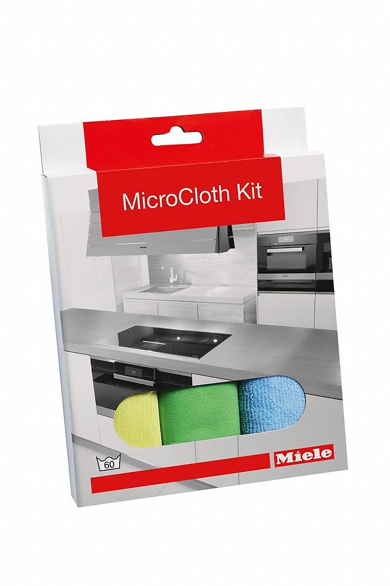 Miele GP MI S 0031 W MicroCloth Kit, 3 Stück