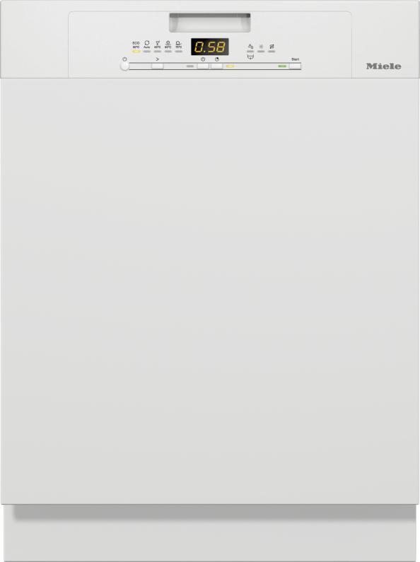 Miele G 5000 SCi Active Integrierter Geschirrspüler Brillantweiß