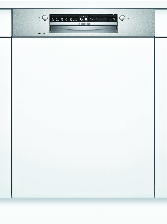 Bosch SMI4HDS52E Teilintegrierter Geschirrspüler Edelstahl