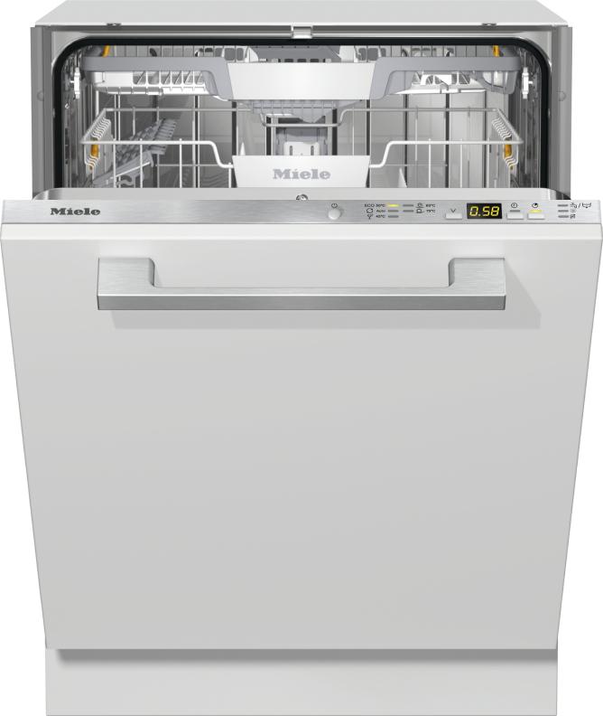 Miele G 5260 SCVi Active Plus Vollintegrierter Geschirrspüler Edelstahl