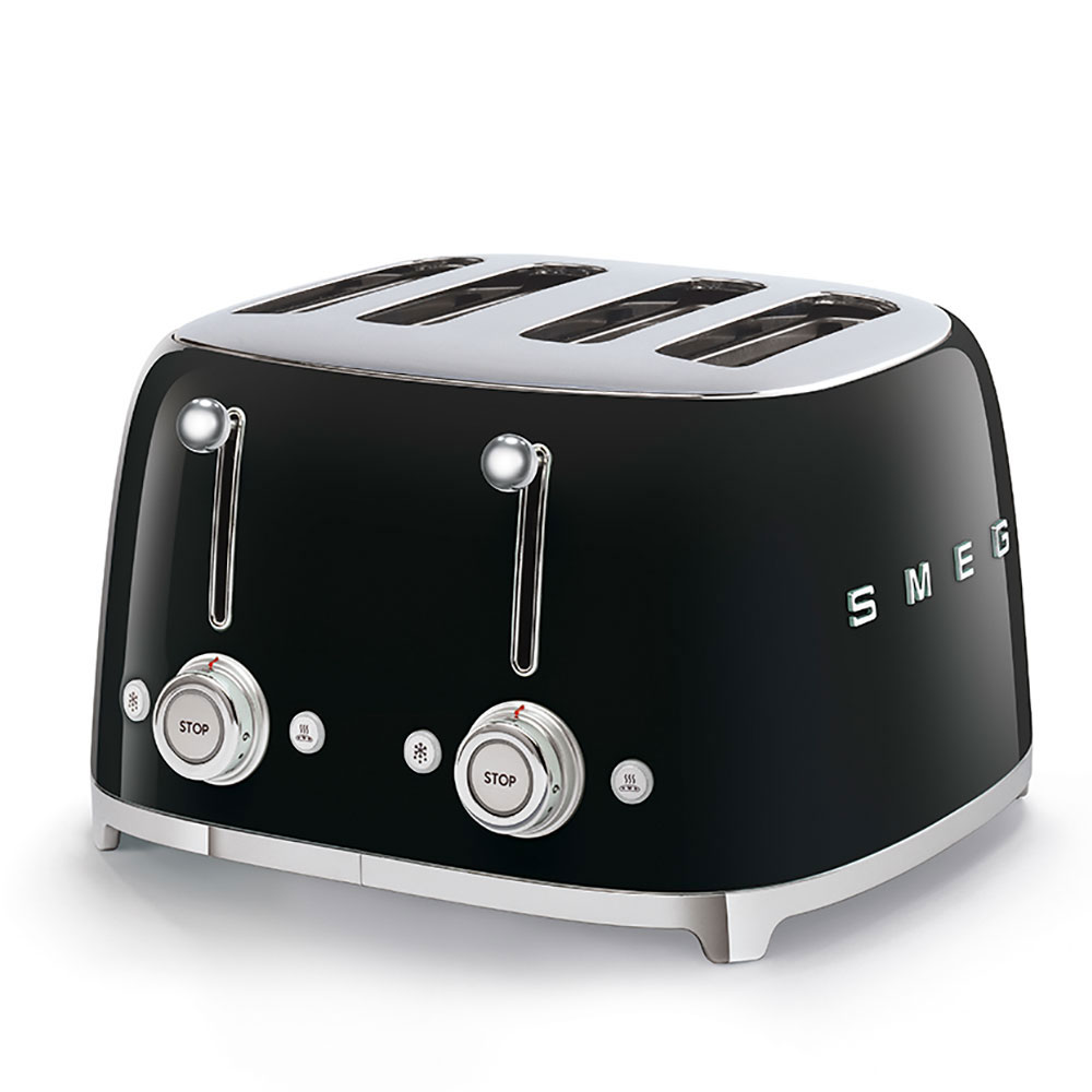 SMEG TSF03BLEU Toaster Schwarz