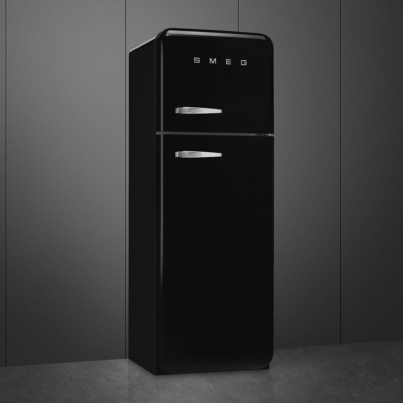 Smeg FAB30RBL3 Stand-Kühl-Gefrierkombination Schwarz