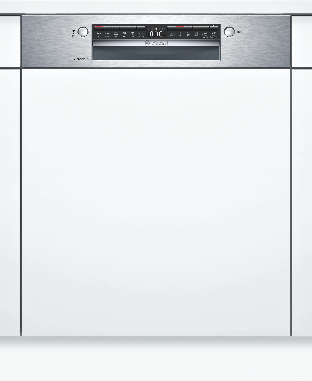 Bosch SBI4HCS48E Teilintegrierter Geschirrspüler Edelstahl