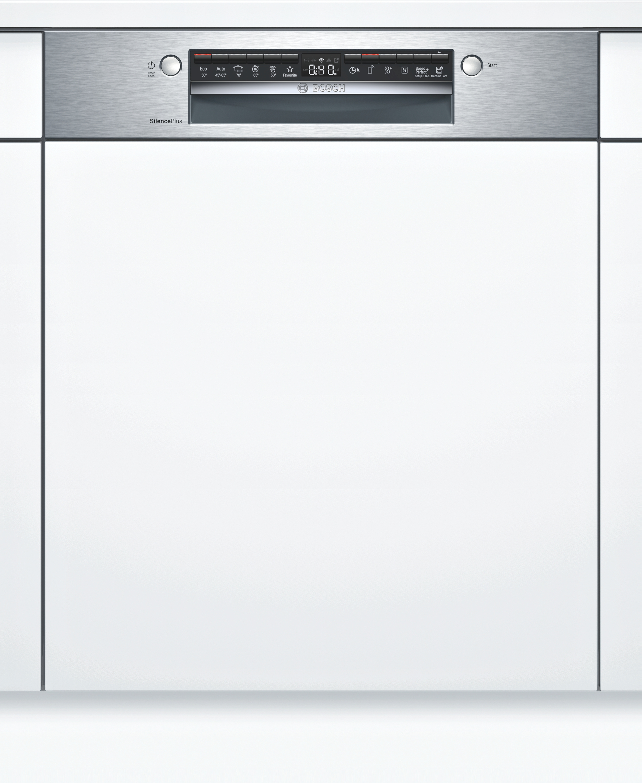 Bosch SMI4HCS48E Teilintegrierter Geschirrspüler Edelstahl