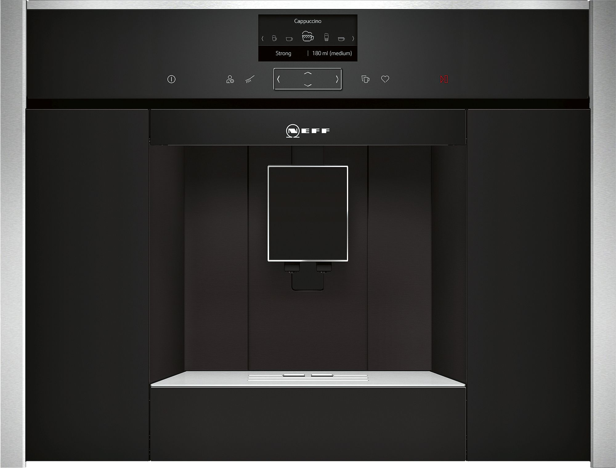 Neff C17KS61H0 Einbau-Kaffeevollautomat Schwarz