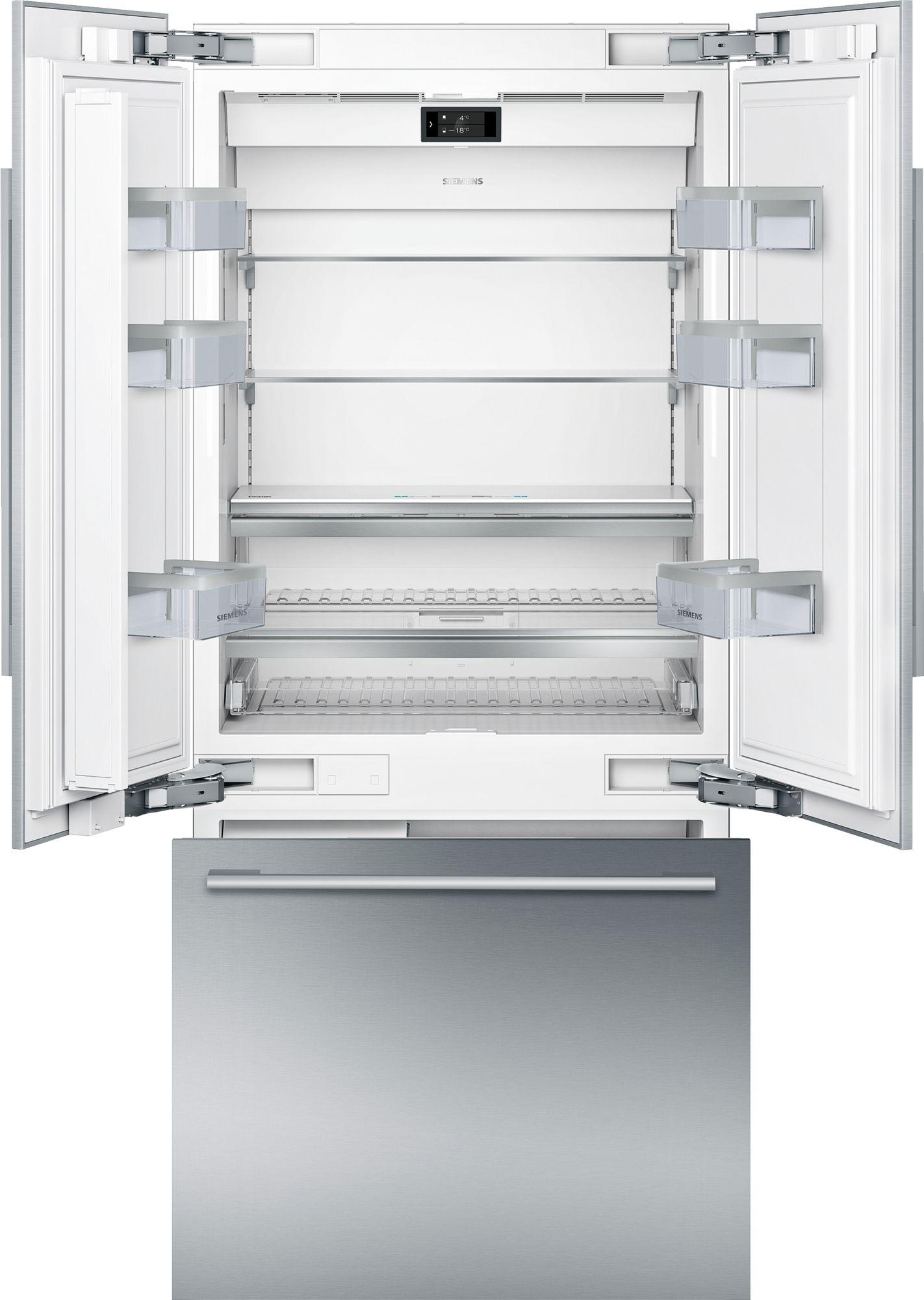 Siemens CI36TP02 Einbau-Kühl-Gefrierkombination Silver