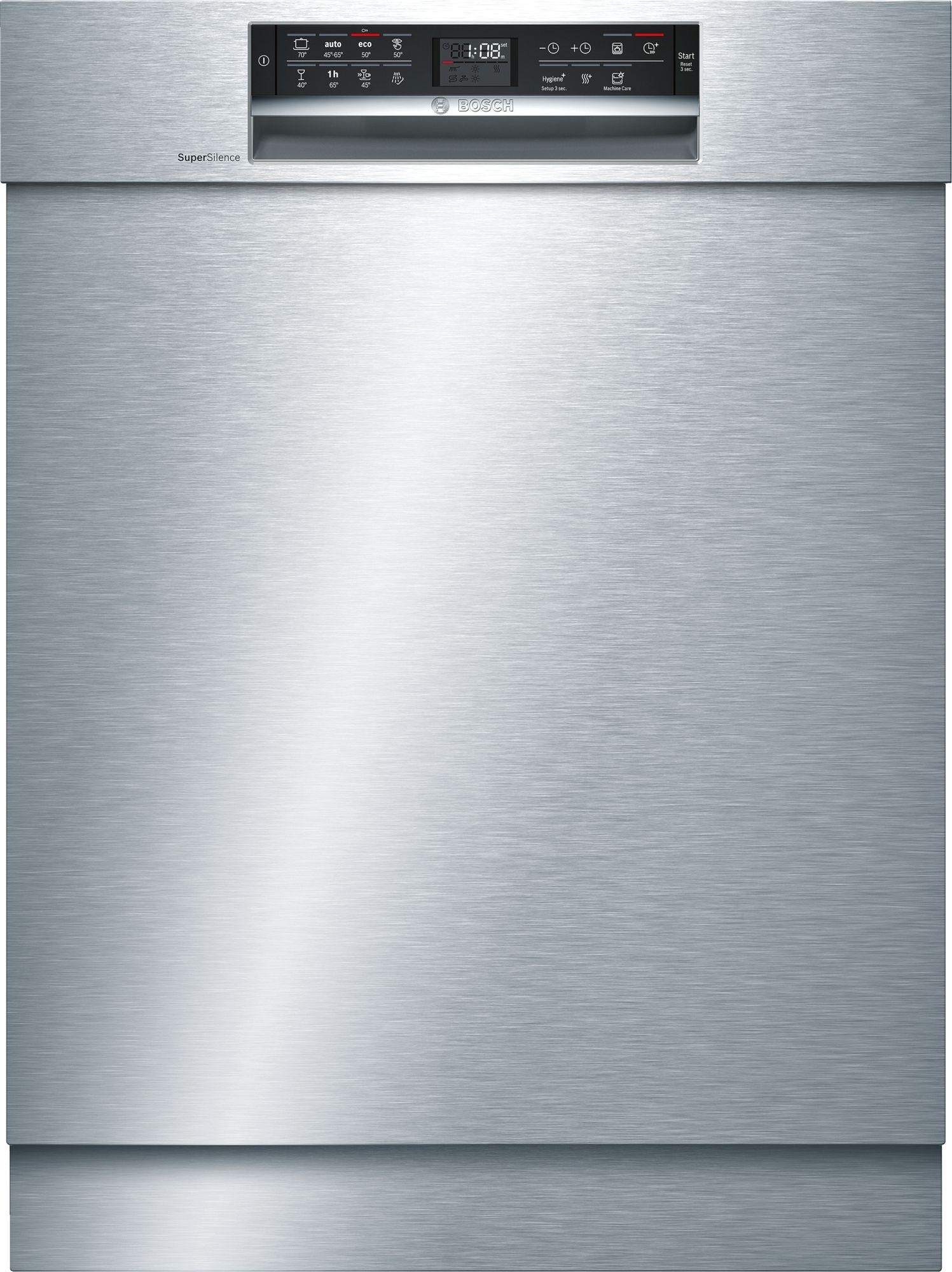 Bosch SMU68MS02E Unterbau-Geschirrspüler Edelstahl