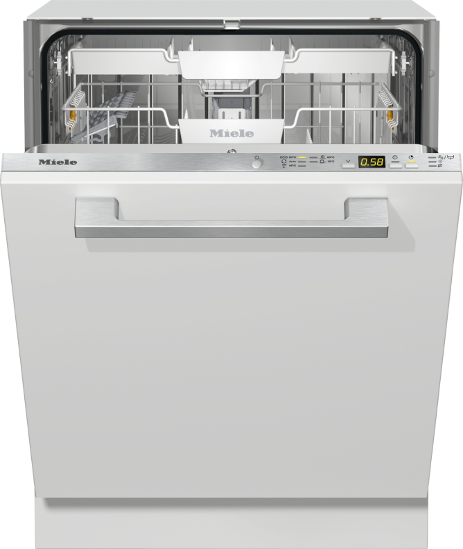 Miele G 5050 SCVi Active Vollintegrierter Geschirrspüler Edelstahl