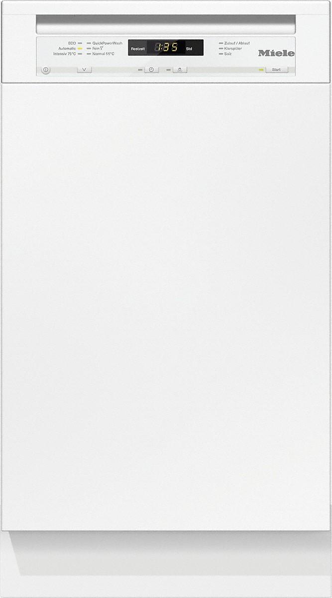 Miele G 4722 SCI Integrierter Geschirrspüler Brillantweiß